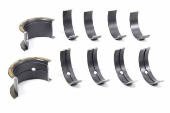 """Clevite Engine Parts - Clevite Coated H-Series Main Bearings - .001"""" Size - Tri Metal - SB Chevy - Set of 5"""