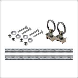 Mac's Custom Tie-Downs - Mac's VersaTie Track Kit 2'