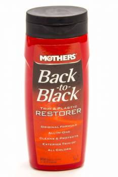 Mothers Polishes-Waxes-Cleaners - Mothers® Back-To -Black® - 8 oz.