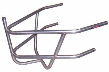 Triple X Race Co. - Triple X 600 Mini Sprint Rear Bumper With Basket - Polished Stainless Steel
