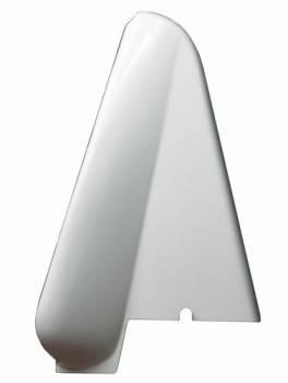 Triple X Race Components - Triple X 600 Mini Sprint Left Side Arm Guard - Gel-Coated White