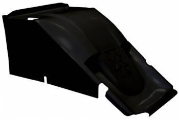 Triple X Race Co. - Triple X 600 Mini Sprint Hood - Dual Duct - Black