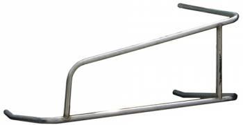 Triple X Race Co. - Triple X Midget Left Nerf - 3-Point - Stainless Steel - Polished