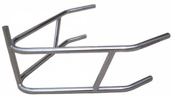 Triple X Race Co. - Triple X Sprint Car Rear Bumper w/ Post - 4130 Chromoly - Plated