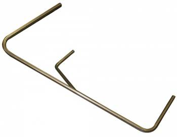 Triple X Race Co. - Triple X Sprint Car Right Nerf - Long - Raised Rail - Stainless Steel - Polished.