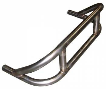 Triple X Race Co. - Triple X Sprint Car Stacked Front Bumper - Polished Stainless Steel