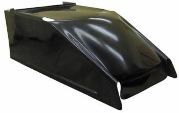 Triple X Race Co. - Triple X Sprint Car Clean Air Hood - Black
