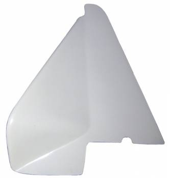 "Triple X Race Co. - Triple X Sprint Car Left Arm Guard - White - For 2"" Taller Big Cage Triple X Chassis"