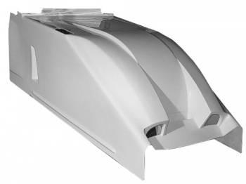 Triple X Race Co. - Triple X Sprint Car Dual Duct Cool Air Hood - Standard Height - White