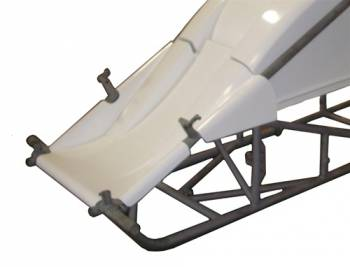 Triple X Race Co. - Triple X Sprint Car Dual Inside The Rail Nose - White