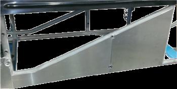 Triple X Race Co. - Triple X Sprint Car Aluminum Engine Enclosure - RH