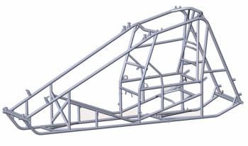 Triple X Race Co. - Triple X Sprint CarX-WedgeChassis (Bare Frame)
