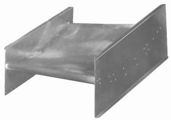 Triple X Race Co. - Triple X Sprint Car Nose Wing - Center Mount - Large Side Boards - Deep Dish - Heavy-Duty Aluminum Cap
