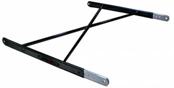 Triple X Race Co. - Triple X Sprint Car Aero (Squish Tube) Top Wing Tree - Black Powder Coat