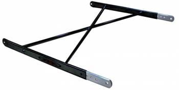 Triple X Race Co. - Triple X Sprint Car Aero (Squish Tube) Top Wing Tree - Black Powder Coat