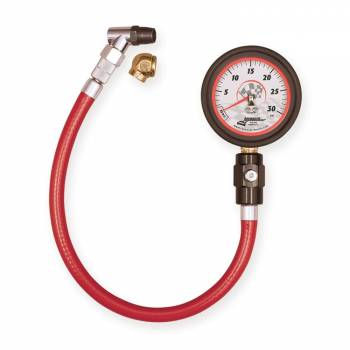 "Longacre Racing Products - Longacre Deluxe 2-1/2"" Glow-In-The-Dark Tire Pressure Gauge 0-30 psi By 1/2 lb"