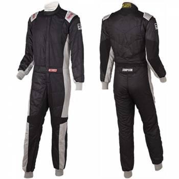 Simpson Revo Auto Racing Suit - Black