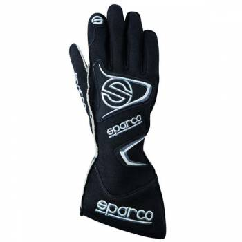Sparco Tide H-9 Auto Racing Gloves - Black