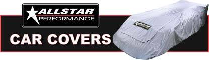 Designed for a precise fit, Allstar Performance race car covers are a must at the track!