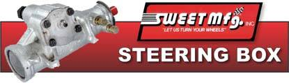 Sweet Sportsman Steering Boxes are IMCA legal, say goodbye to your quickener forever!