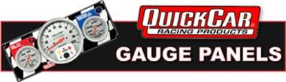 QuickCar Gauge Panels are prewired for easy installation and include all senders!