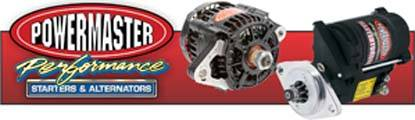 No matter what you're racing, Powermaster has the starter or alternator you need!