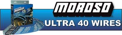 Moroso Ultra-40 Race Wire is the standard in high performance ignition wire used at highest level of racing!