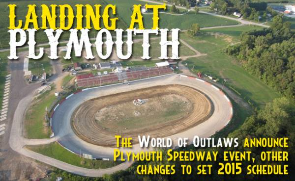 World of Outlaws Sprint Cars Invading Indiana's Plymouth Speedway