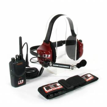 Racing Electronics Motorola Stingray Extra Crew Race Communications Set
