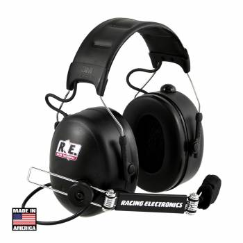 Racing Electronics Platinum Black Headset PT007