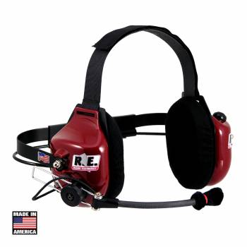 Racing Electronics Deluxe Crew Chief / Spotter Headset RT006-DELUXE