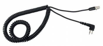 Racing Electronics Radio Interface Cable - Fits Motorola Twin Pin Radios RE3736-FT