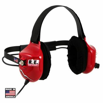 Racing Electronics RE-58 Platinum Scanner Headphones