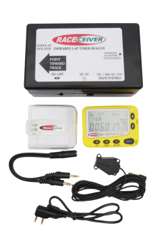 RACEceiver LapCeiver A.L.T. with IR Beacon Transmitter LAP-ALT-101PK