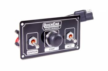 QuickCar Racing Products - QuickCar Ignition Control Panel - Black