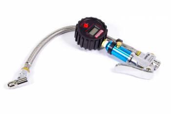 """QuickCar Racing Products - QuickCar Digital Tire Inflator/Gauge - 0-100 psi - 2-1/4"""" Diameter - Black Face"""
