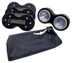 "Allstar Performance - Allstar Performance Sprint Car Fuel Injector Wash Plug Set - Kinsler 2-1/4"" Diameter (Set of 4)"