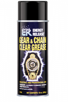 Energy Release - Energy Release®  Clear Gear & Chain Grease - ?13 oz. - Aerosol