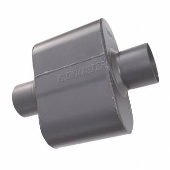 Flowmaster - Flowmaster Super 10 Muffler 409S - 2.50 Center In / 2.50 Center Out - Aggressive Sound