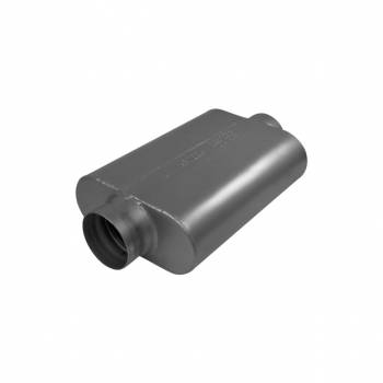 Flowmaster - Flowmaster 40 Series Race Muffler 409S - 3.50 Center In / 3.50 Center Out -Aggressive Sound