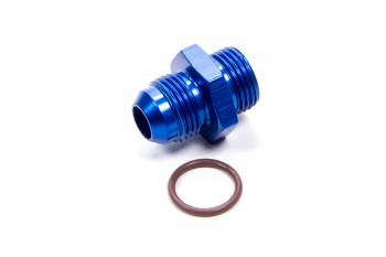 Fragola Performance Systems - Fragola -08 AN Male to -08 AN Male O-Ring Boss Adapter - Blue