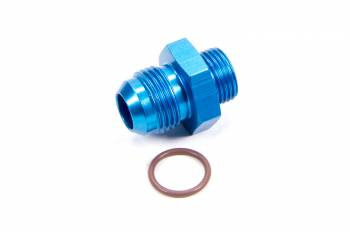 Fragola Performance Systems - Fragola -08 AN Male to -10 AN Male O-Ring Boss Adapter - Blue