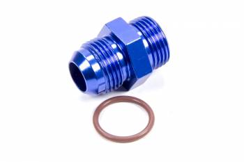 Fragola Performance Systems - Fragola -12 AN Male to -12 AN Male O-Ring Boss Adapter - Blue