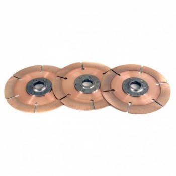 Tilton Engineering - Tilton 7.25? 3-Plate Metallic Clutch Disc Pack