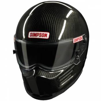 Simpson Carbon Fiber Bandit Auto Racing Helmet 620C