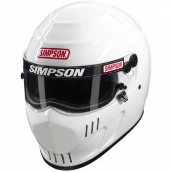 Simpson Speedway RX Auto Racing Helmet - White