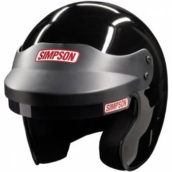 Simpson FR Cruiser Open Face Helmet - Gloss Black