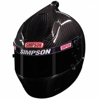 Simpson Carbon Fiber Air Inforcer Shark Helmet 478C