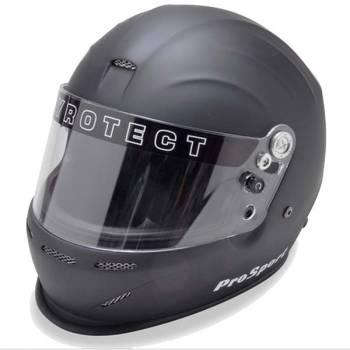 Pyrotect ProSport Full Face Auto Racing Helmet - Flat Black