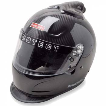 Pyrotect Pro Airflow Carbon Duckbill Top Forced Air Helmet